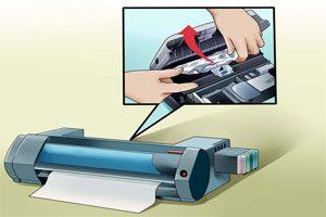 چرا کاغذ در پرینتر گیر می کند ؟