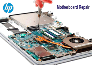 تعمیر مادربرد لپ تاپ hp