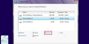 نحوه نصب ویندوز لپ تاپ اچ پی