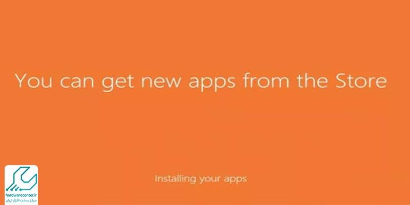 نصب ویندوز 10 در لپ تاپ اچ پی
