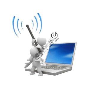 وصل نشدن لپ تاپ به شبکه اینترنت