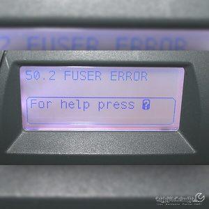 خطا Fuser Error 50-2