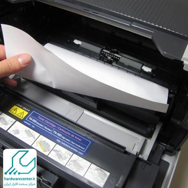 خطای Paper Jam در پرینتر HP